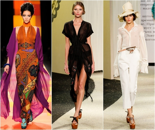 Модная одежда весна-лето 2013