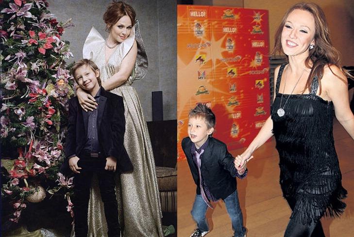Альбина Джанабаева показала всем своего сына от Валерия Меладзе