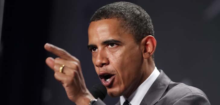 Барак Обама спешит на помощь свой супруге