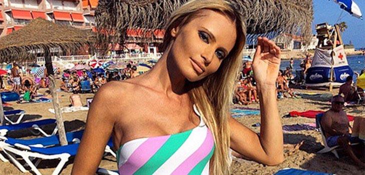 Дана Борисова флиртует с поклонниками на отдыхе в Испании
