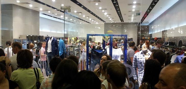 Грандиозные распродажи модной одежды и аксессуаров в Москве