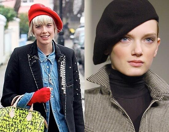 Уроки стиля: как и с чем носить берет