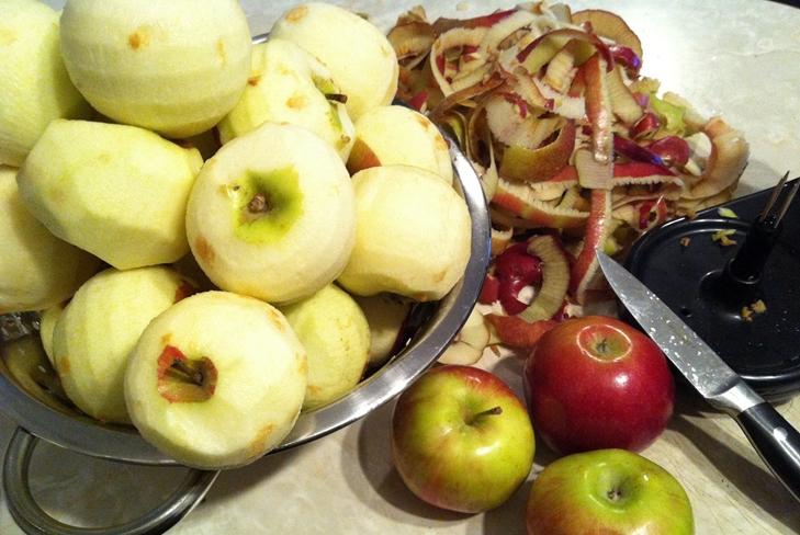 Консервирование яблок целиком в собственном соку на зиму - фото рецепт