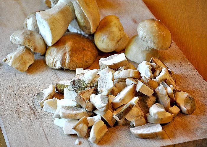 Рецепт маринованных белых грибов с лимонной кислотой