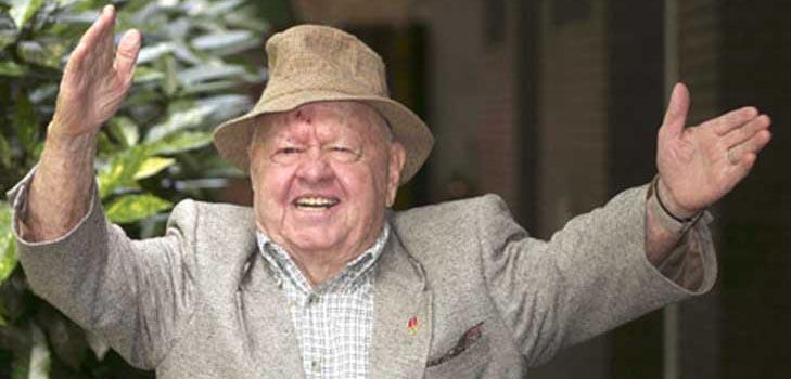Легендарный актер Микки Руни умер в возрасте 93 лет