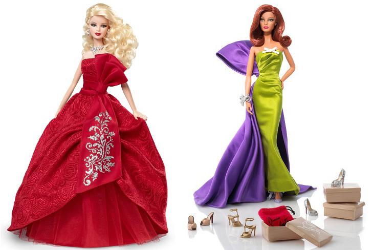 Идея новогоднего подарка – Barbie в платье haute couture