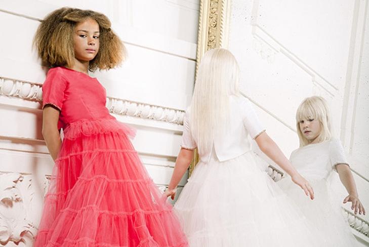 Жан Поль Готье впервые в истории моды представил линию детской одежды haute couture