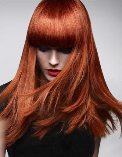 Огненно рыжий цвет волос будет актуальным в период осень-зима 2014-2015