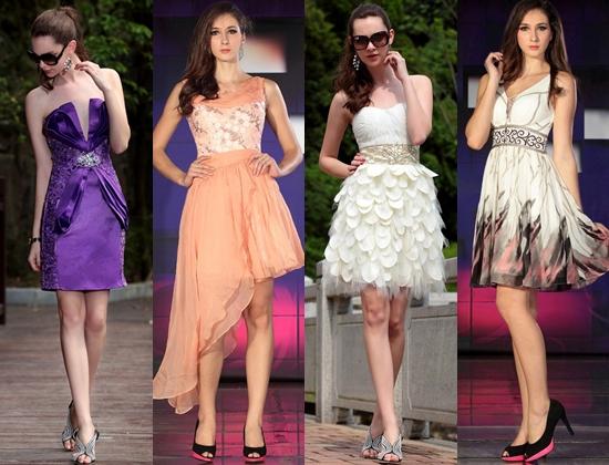 Модные новогодние платья 2014, фото нарядов