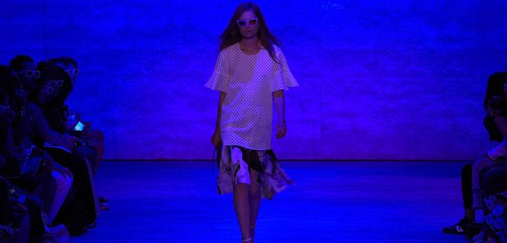 Одежду с 3D-принтами представили на нью-йоркской Неделе моды