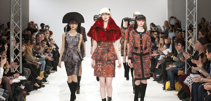 Первые показы Недели моды в Лондоне