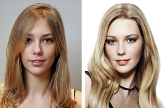 Техника 3D окрашивания волос: фото до и после