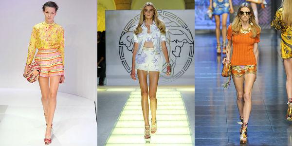 Модные шорты весна-лето 2013