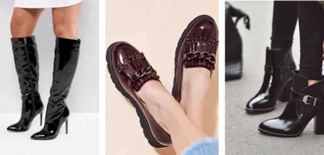 Самая эффектная лакированная обувь осени, которая сейчас в тренде
