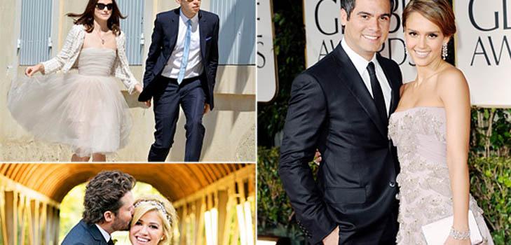 Самые скромные свадьбы знаменитостей