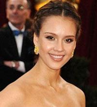 Овальное лицо: Джессика Альба