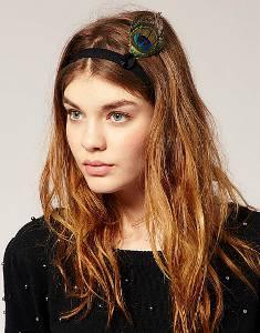 Прически с повязкой для волос