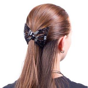 Как красиво заколоть волосы?