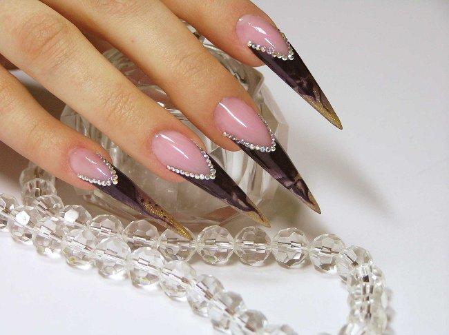 Как придать форму ногтям в домашних условиях?