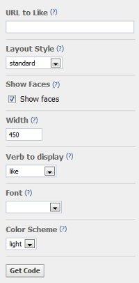 Как добавить кнопку Мне нравится от Facebook?