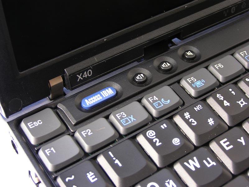 функциональные кнопки