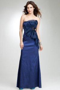 Длинные выпускные платья 2012
