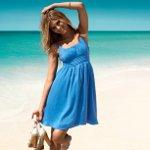 Модные пляжные сарафаны
