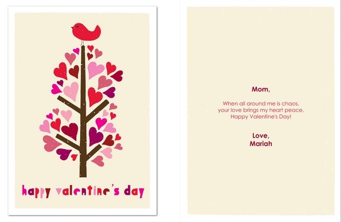 открытка к дню валентина