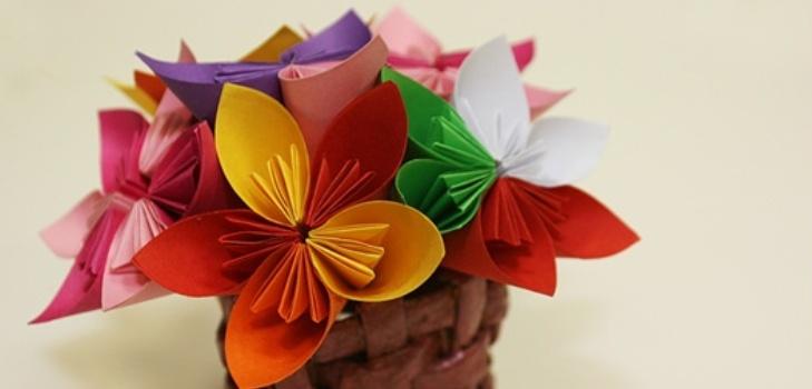 цветы из бцмаги