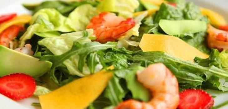 Легкие и простые салаты
