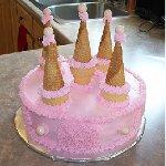 Торт «Замок любви»