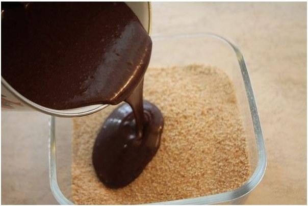 добавляем масло с какао