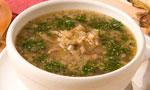 Суп холодный грибной