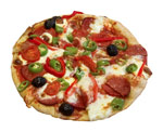 Пицца с картофелем и кабачками