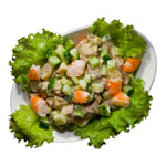 Латвийский салат