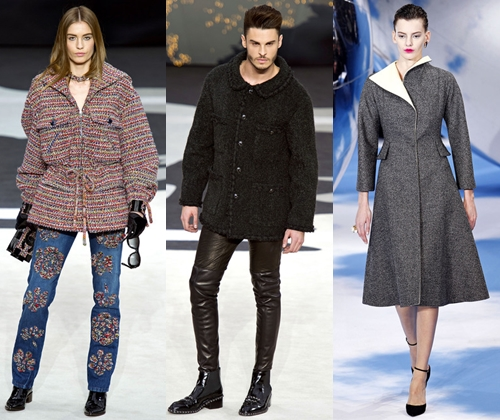 Модная верхняя одежда зима 2014 (фото)  модные тенденции верхней одежды для  мужчин и женщин 87e31e1c9bc