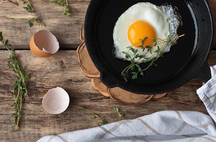 Яичница как готовить