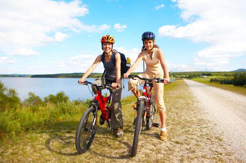 Сколько калорий сжигается во время езды на велосипеде