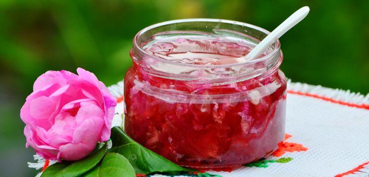 варенье из розы рецепты