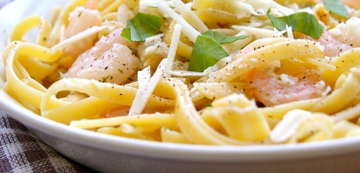 Спагетти с грибами исливочным соусом, пошаговый рецепт с фото