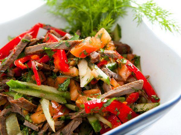 Лапша с индейкой в арахисовом соусе, пошаговый рецепт с фото