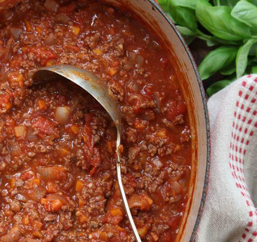 Тальятелле с соусом болоньезе, пошаговый рецепт с фото