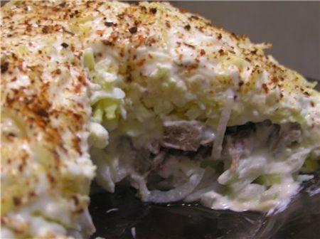 Профитроли Морской каприз, пошаговый рецепт с фото
