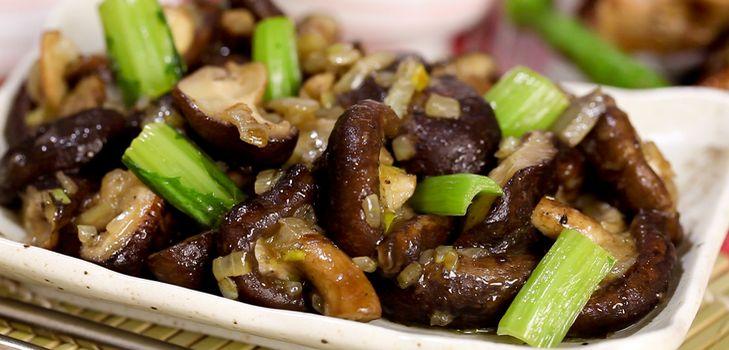 грибы шитаки как приготовить