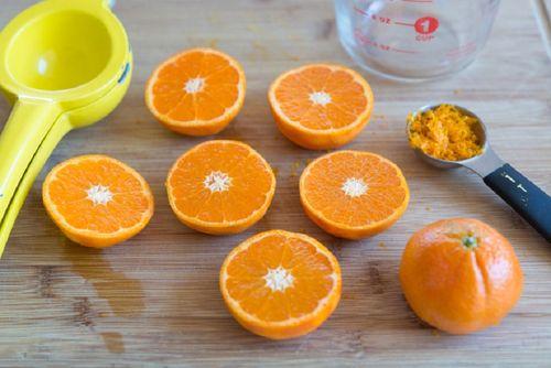 Клюквенно- апельсиновый напиток, пошаговый рецепт с фото