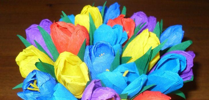 Цветы своими руками детский сад фото 323