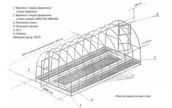 Ворота гаражные : чертежи для изготовления
