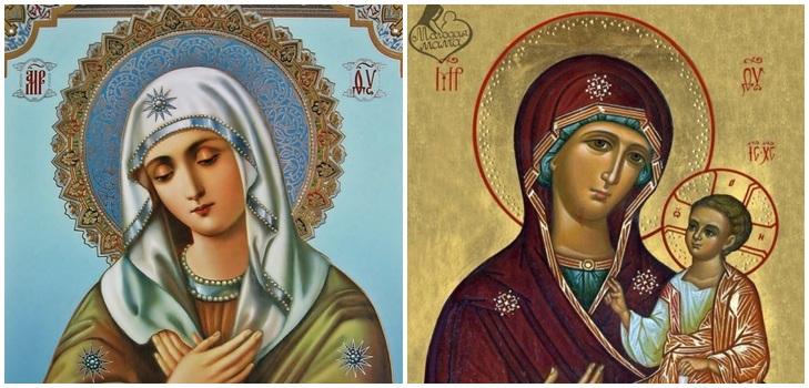 Православная молитва пресвятая дева мария
