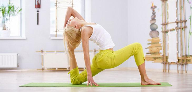 Йога для начинающих в домашних условиях для похудения