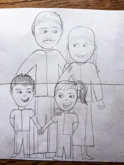 kak-narisovat-mamu-34 Стенгазета на День матери своими руками с картинками и фотографиями: Шаблоны для распечатки плаката ко Дню матери в школе и детском саду
